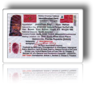 Proclaim Your Nationality Moorish Registry