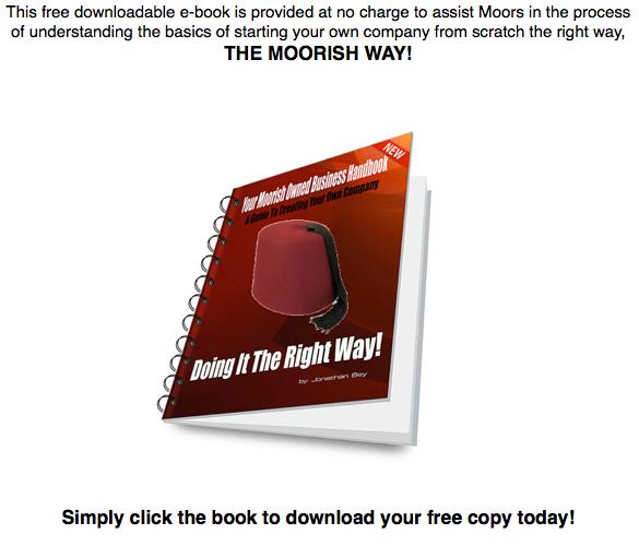 e-book cover ad